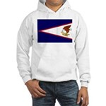American Samoa Flag Hooded Sweatshirt