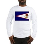 American Samoa Flag Long Sleeve T-Shirt