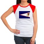 American Samoa Flag Women's Cap Sleeve T-Shirt