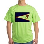 American Samoa Flag Green T-Shirt