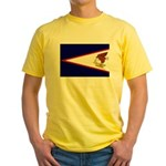 American Samoa Flag Yellow T-Shirt