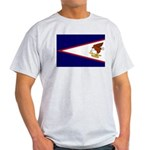 American Samoa Flag Light T-Shirt