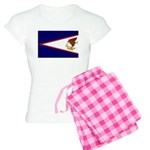 American Samoa Flag Women's Light Pajamas