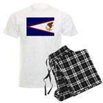 American Samoa Flag Men's Light Pajamas