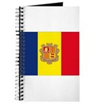 Andorra Flag Journal