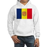 Andorra Flag Hooded Sweatshirt
