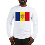 Andorra Flag Long Sleeve T-Shirt