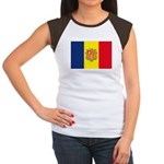 Andorra Flag Women's Cap Sleeve T-Shirt