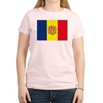 Andorra Flag Women's Light T-Shirt