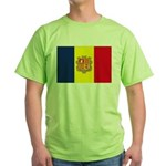 Andorra Flag Green T-Shirt