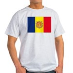 Andorra Flag Light T-Shirt