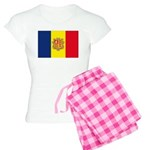 Andorra Flag Women's Light Pajamas