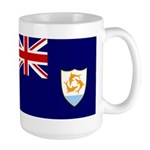 Anguilla Flag Large Mug