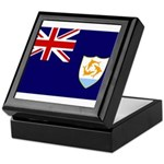 Anguilla Flag Keepsake Box