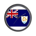 Anguilla Flag Wall Clock
