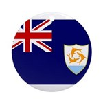 Anguilla Flag Ornament (Round)