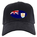 Anguilla Flag Black Cap