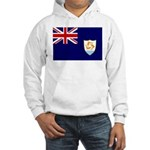 Anguilla Flag Hooded Sweatshirt