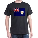 Anguilla Flag Dark T-Shirt