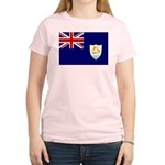 Anguilla Flag Women's Light T-Shirt