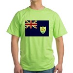 Anguilla Flag Green T-Shirt