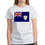 Anguilla Flag Women's T-Shirt