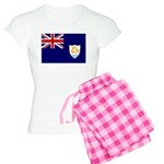 Anguilla Flag Women's Light Pajamas