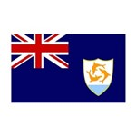 Anguilla Flag 38.5 x 24.5 Wall Peel