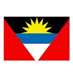 Antigua and Barbuda Flag Postcards (Package of 8)