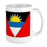 Antigua and Barbuda Flag Large Mug
