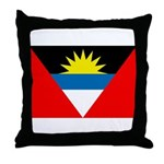 Antigua and Barbuda Flag Throw Pillow
