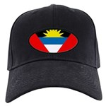 Antigua and Barbuda Flag Black Cap