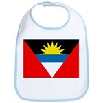 Antigua and Barbuda Flag Bib