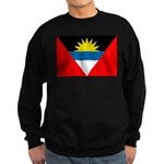 Antigua and Barbuda Flag Sweatshirt (dark)
