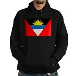 Antigua and Barbuda Flag Hoodie (dark)