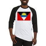 Antigua and Barbuda Flag Baseball Jersey