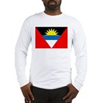 Antigua and Barbuda Flag Long Sleeve T-Shirt