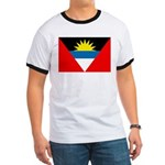 Antigua and Barbuda Flag Ringer T