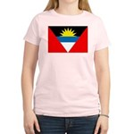Antigua and Barbuda Flag Women's Light T-Shirt