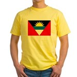 Antigua and Barbuda Flag Yellow T-Shirt
