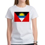 Antigua and Barbuda Flag Women's T-Shirt