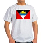 Antigua and Barbuda Flag Light T-Shirt