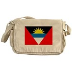 Antigua and Barbuda Flag Messenger Bag