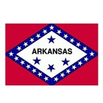 Arkansas Flag Postcards (Package of 8)