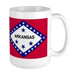 Arkansas Flag Large Mug
