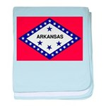 Arkansas Flag baby blanket