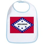 Arkansas Flag Bib