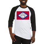 Arkansas Flag Baseball Jersey