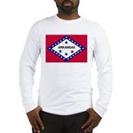Arkansas Flag Long Sleeve T-Shirt