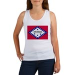 Arkansas Flag Women's Tank Top